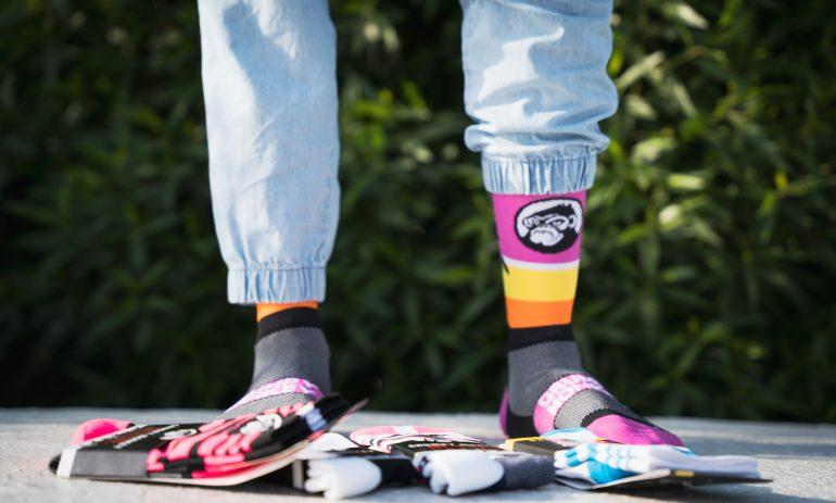 The Standout Socks – Grumpy Monkey